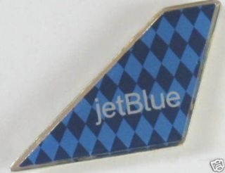 10314 JET BLUE AIRLINES USA AMERICA HARLEQUIN TAIL PIN