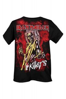 iron maiden killers t shirt  more options