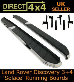 For Land Rover Discovery 4 09 11 1x2 Car Doors Running Board Side Step