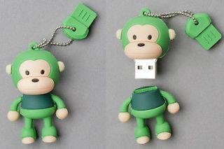 Newly listed Green Monkey USB Flash Memory Drive(Stick/Pe​n/Thumb