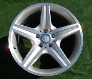 Genuine OEM AMG Mercedes Benz 18 inch CLS550 Rear WHEEL 85004