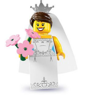 Newly listed LEGO Wedding Bride Collectable Minifigure Series 7 8831