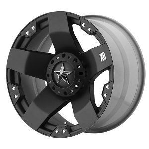 XD SERIES ROCKSTAR RIMS WHEELS BLACK 20x8.5 6x135 6x139.7 +10
