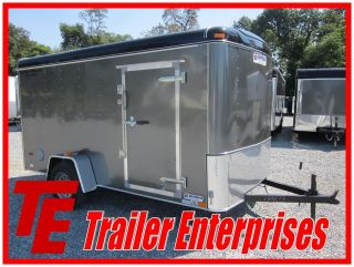 new 13 united 6 x 12 enclosed motorcycle trailer time
