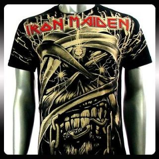 Newly listed Iron Maiden Heavy Metal Men Rock T shirt Sz XXL 2XL Punk
