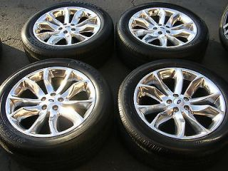 20 FORD EXPLORER FACTORY OEM WHEELS TIRES EDGE FLEX FUSION MKS 17 18