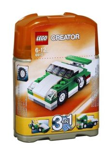 Creator 5866 Rotor Rescue & 6910 Mini Sports Car 3 In 1 Building Sets