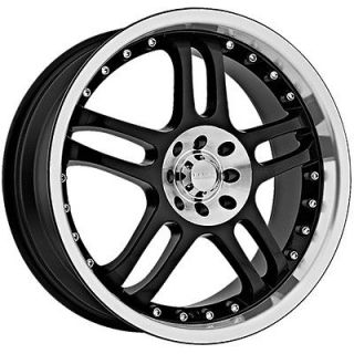Newly listed 15 Black Akuza 421 Wheels Rims 5x100/5x114.3 5 Lug Jetta
