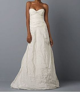 nicole miller bridal wedding dress gown 4 $ 1600 hg0013
