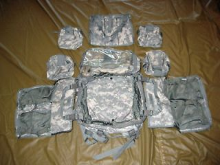 molle medic bag set us army issue acu brand new
