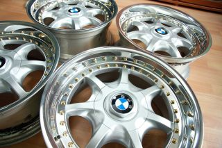 AUTHENTIC OEM BMW BBS STYLE 19 OCTOPUS SPLIT RIMS E39 E34 E36 M3 M5