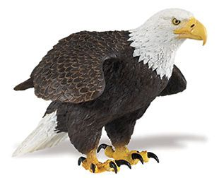 AMERICAN BALD EAGLE # 251029 ~Incredable Creatures ~ FREE SHIP/US w/ $