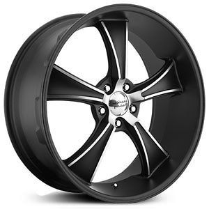 american racing vn805 rims wheels black 20x10 5x120 7 15