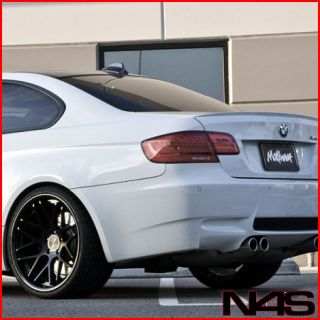 20 BMW E92 E93 M3 COUPE VERTINI MAGIC CONCAVE BLACK STAGGERED WHEELS