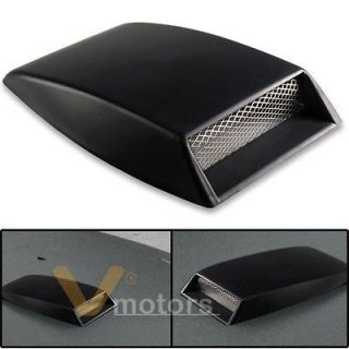 Car SUV Truck Air Flow Intake Scoop Turbo Bonnet Roof Vent Cover Hood