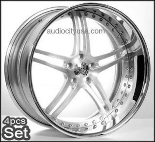 Custom Forged 3Pc Wheels Rims for BMW,Camaro,Ran​ge Rover,Mercedes