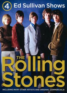 The 4 Complete Ed Sullivan Shows Starring The Rolling Stones DVD, 2011