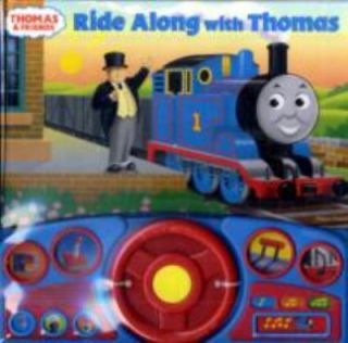 Thomas & Friends Steering Wheel Sound Book Ride Along with Thomas