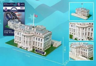 Museum Quality Model Barack Obama White House 1/125 Scale Mint in Box
