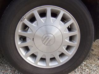 15 1999 MERCURY SABLE 14 SPOKE MACHINED ALLOY WHEEL RIM HOLLANDER