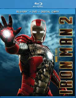 iron man 2 blu ray dvd 2010 includes digital copy