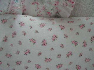 Newly listed SHABBY PINK ROSEBUD FABRIC CHIC~RACHEL ASHWELL~34 wide