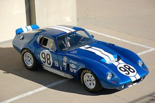 /Kit Makes  Shelby Cobra Daytona Coupe base coupe 2 door 1965 Shelby
