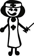 VINYL STICK PEOPLE FAMILY CAR WALL DECAL STICKER TOP #1QUALITY GIRL