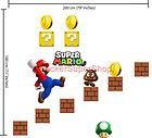 SUPER MARIO BROS Wall Mural Wallpaper Wallies AWESOME~