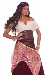 adult bohemian gypsy fortune teller halloween costume