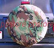SPARE TIRE COVER 29.6 31.5 new Camo EP dc0711103p (Fits Jeep)