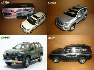18 2010 Toyota Landcruiser Land Cruiser Prado ( white / green