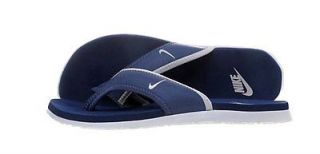NIKE MENS CELSO THONG PLUS FLIP FLOP SANDALS BEACH POOL SHOES BLUE