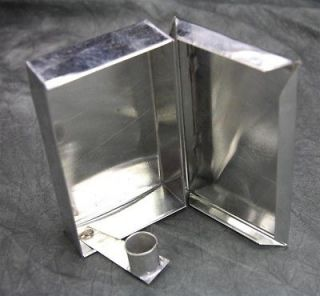 Reproduction U.S. Civil War Reenactors Candle Stand Tin Box