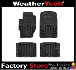 WeatherTech® All Weather Floor Mats   Acura TL   1999 2003   Black
