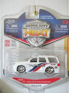 JADA TOYS 2010 BADGE CITY HEAT COUNTY AIRPORT 03 LINCOLN NAVIGATOR