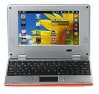 Mini WiFi Netbook Laptop 256 MB 4GB HD 800MHz 32 Bit