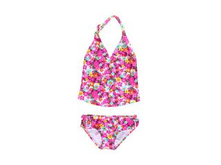Roxy Kids Daisy Gypsy Halter Tiki Tri Tankini Set (Toddler/Little Kids