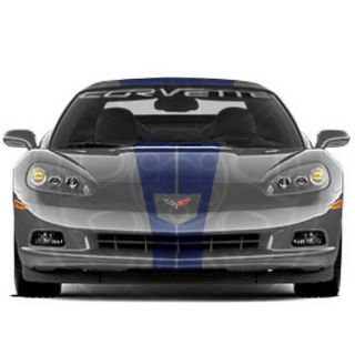2012 Chevrolet Corvette Z06 G s Coupe Full Length Racing Stripes GM