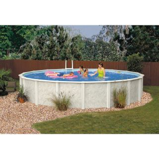 GSM Crystal River Above Ground Round Pool Package