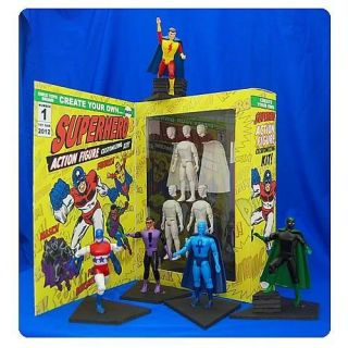 Create Your Own Super Hero Action Figure Custom Kit Pre Order