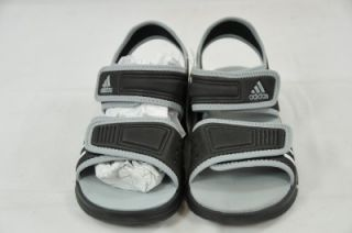 ADIDAS AKWAH 7 K G42826 RUN WHITE BLACK (#3159) 1 KIDS SANDAL