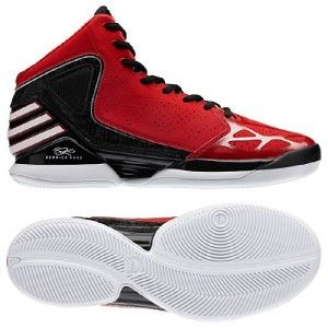 Adidas Derrick Rose 773 Basketball Shoes US 10.5 (UK 10) RED SCARLET