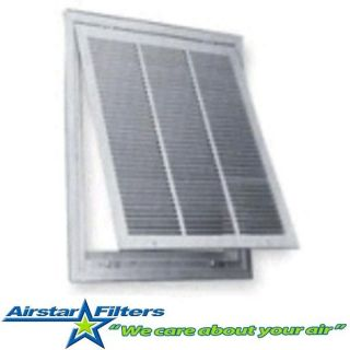 Return Air Grille with Filter Air Conditioning Heating All Aluminum