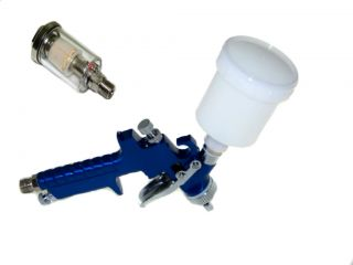 New Pro HVLP Air Touch up Spray Gun With Water and oil Separator