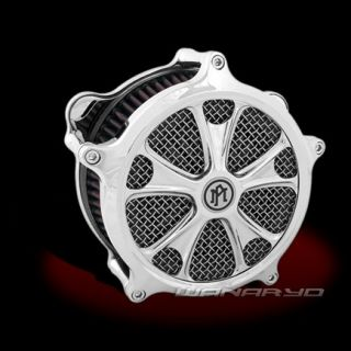 Performance Machine Gasser Chrome Air Cleaner Harley Touring Softail