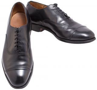 allen edmonds park ave mens shoes oxfords black 10