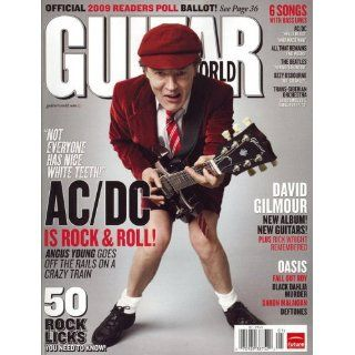 Guitar World Magazine January 2009 AC DC Angus Young
