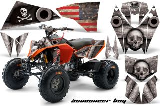 AMR Racing KTM 450 525 EXC XC ATV Graphics Sticker Kit