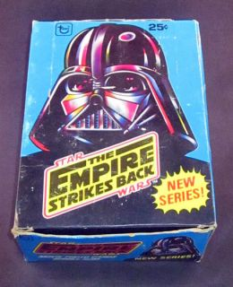 1980 Topps Star Wars The Empire Strikes Back Series 2 Trading Card Box